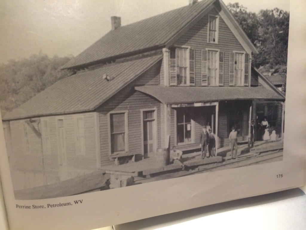 "A photo of the store from the book ""A Photographic History of Ritchie County, West Virginia."""